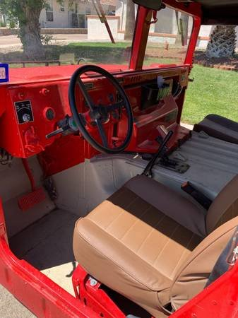 1987 AM General M998 Hummer H1 Diesel  Red  Auto  $25k For Sale (picture 5 of 6)
