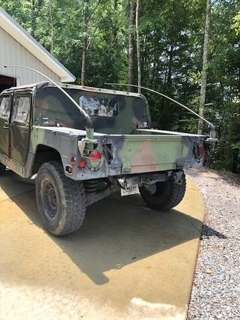 1987 Humvee AM General H1 M998 15k miles Clean Camo $19k For Sale (picture 4 of 6)