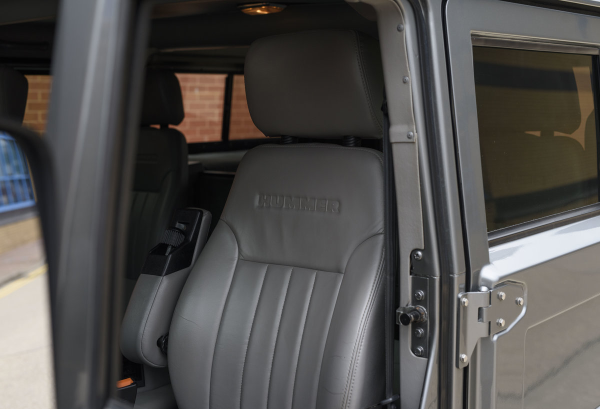 1997 Hummer H1 LHD For Sale in London For Sale (picture 12 of 24)