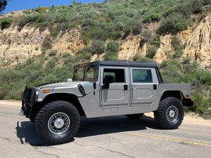 2006  Hummer H1 Alpha Rare Rare Off-Road Adventure Pkg
