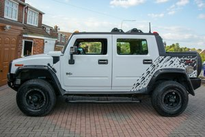 2007 Hummer H2 Lux 6.2 V8 SUT Pick Up