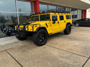 2002 Hummer H1 SUV 4WD Yellow(~)Grey Diver $79.9k For Sale