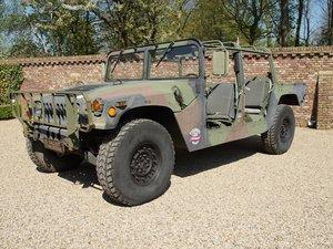 1988 Hummer H1 AM General Humvee M998 HMMWV 'Troop Carrier' 6.2 For Sale