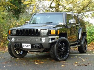 2007 Hummer H3 3.7 Luxury 5dr THE BEST AVAILABLE, PRINS GAS.
