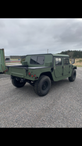 Immaculate military HUMVEE
