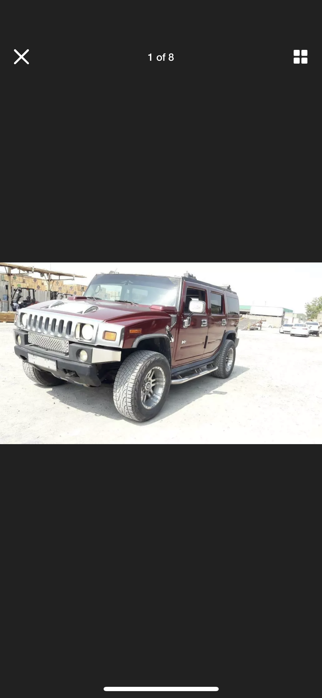 2003 HUMMER H2 6.0 LEFT HAND DRIVE LHD FRESH IMPORT AMERICAN For Sale (picture 1 of 6)
