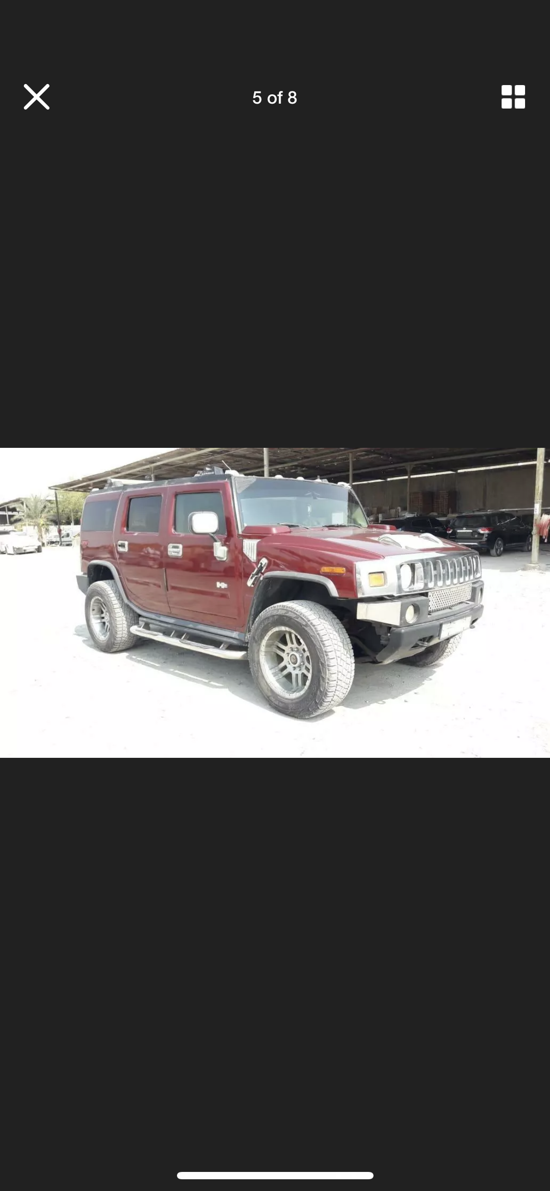 2003 HUMMER H2 6.0 LEFT HAND DRIVE LHD FRESH IMPORT AMERICAN For Sale (picture 2 of 6)