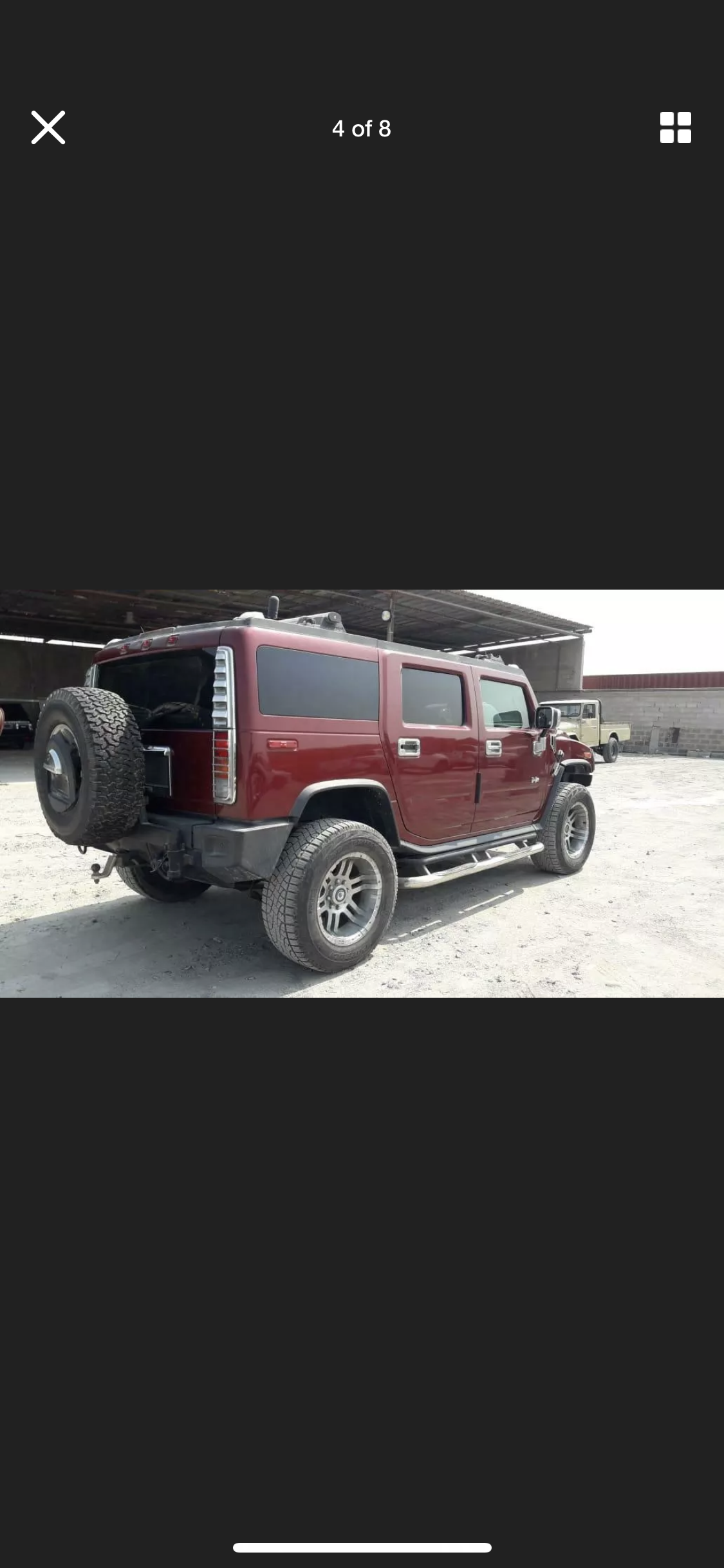 2003 HUMMER H2 6.0 LEFT HAND DRIVE LHD FRESH IMPORT AMERICAN For Sale (picture 3 of 6)