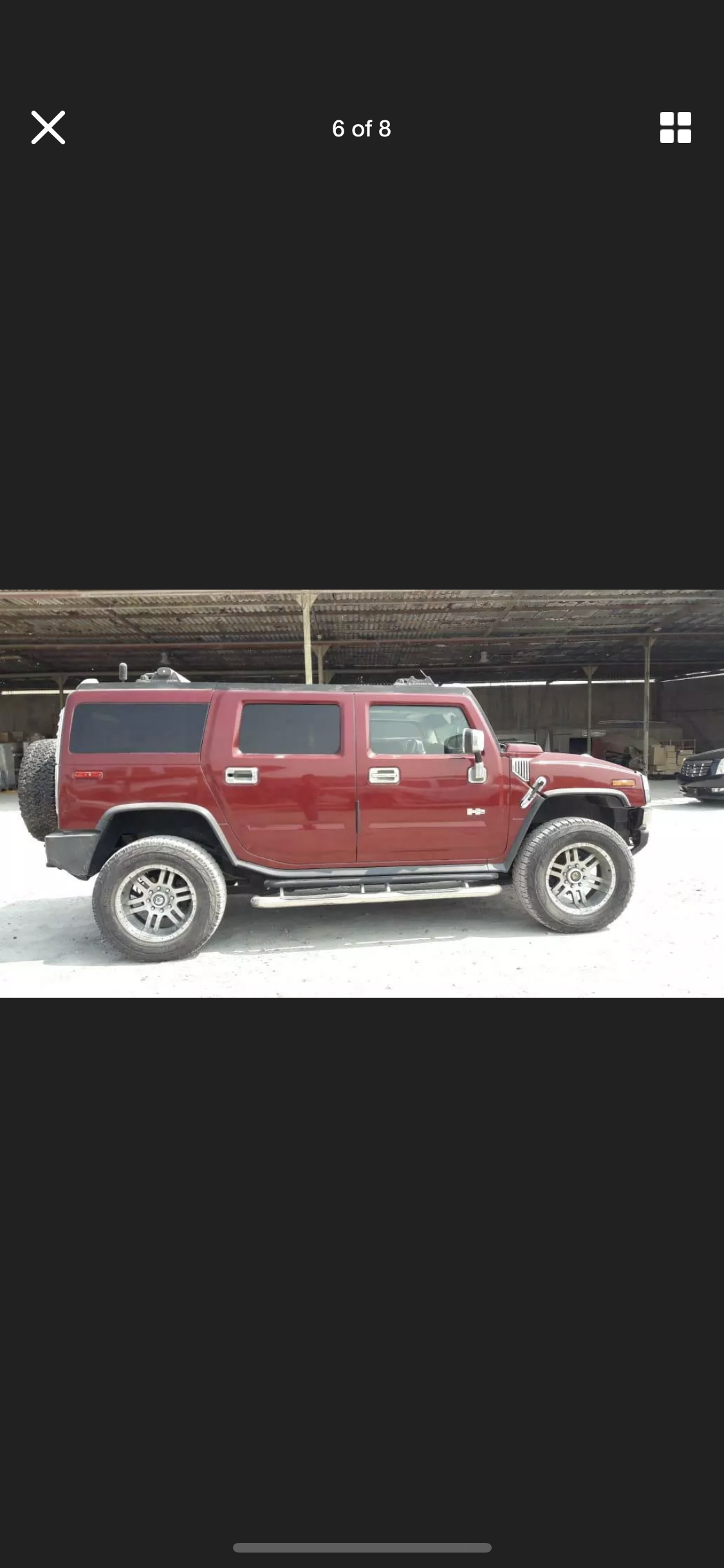 2003 HUMMER H2 6.0 LEFT HAND DRIVE LHD FRESH IMPORT AMERICAN For Sale (picture 4 of 6)