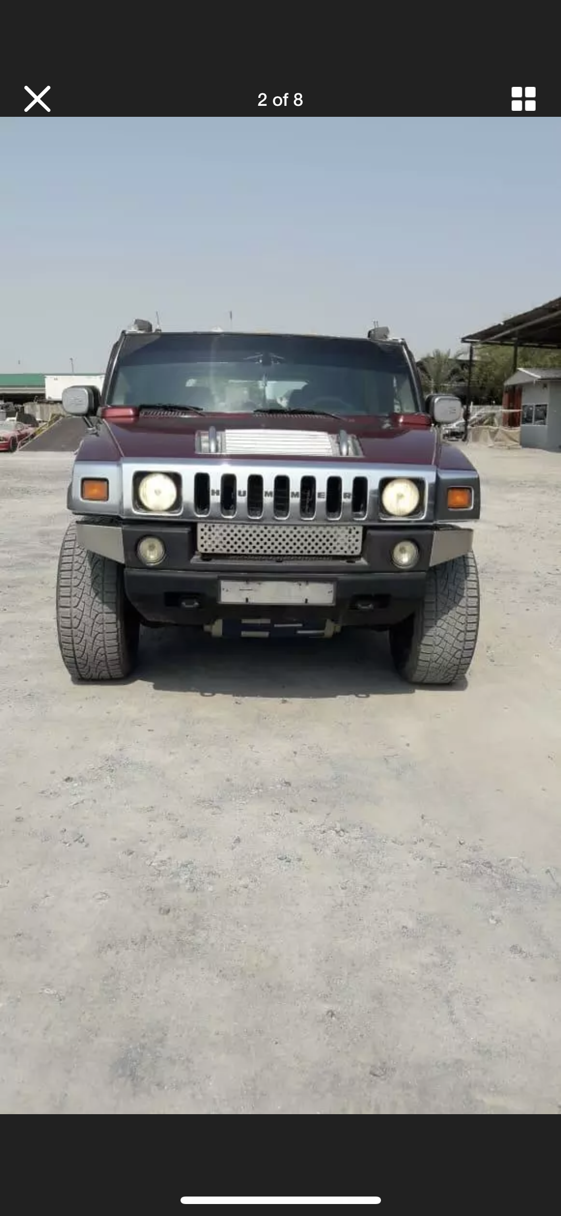 2003 HUMMER H2 6.0 LEFT HAND DRIVE LHD FRESH IMPORT AMERICAN For Sale (picture 5 of 6)