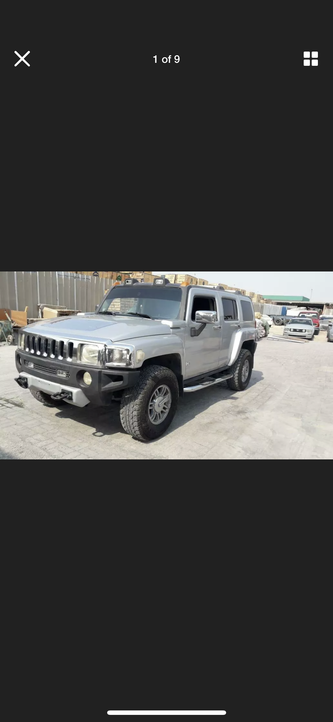 2008 HUMMER H3 3.5 LEFT HAND DRIVE SILVER LHD FRESH IMPORT A For Sale (picture 1 of 6)
