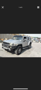 2008 HUMMER H3 3.5 LEFT HAND DRIVE SILVER LHD FRESH IMPORT A For Sale