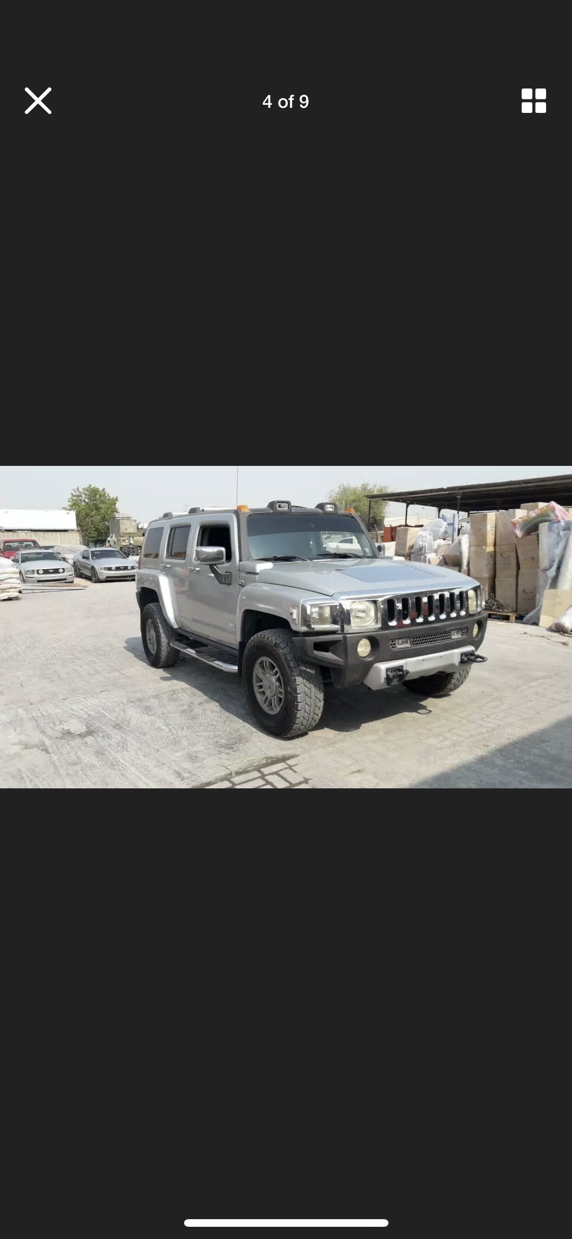 2008 HUMMER H3 3.5 LEFT HAND DRIVE SILVER LHD FRESH IMPORT A For Sale (picture 4 of 6)