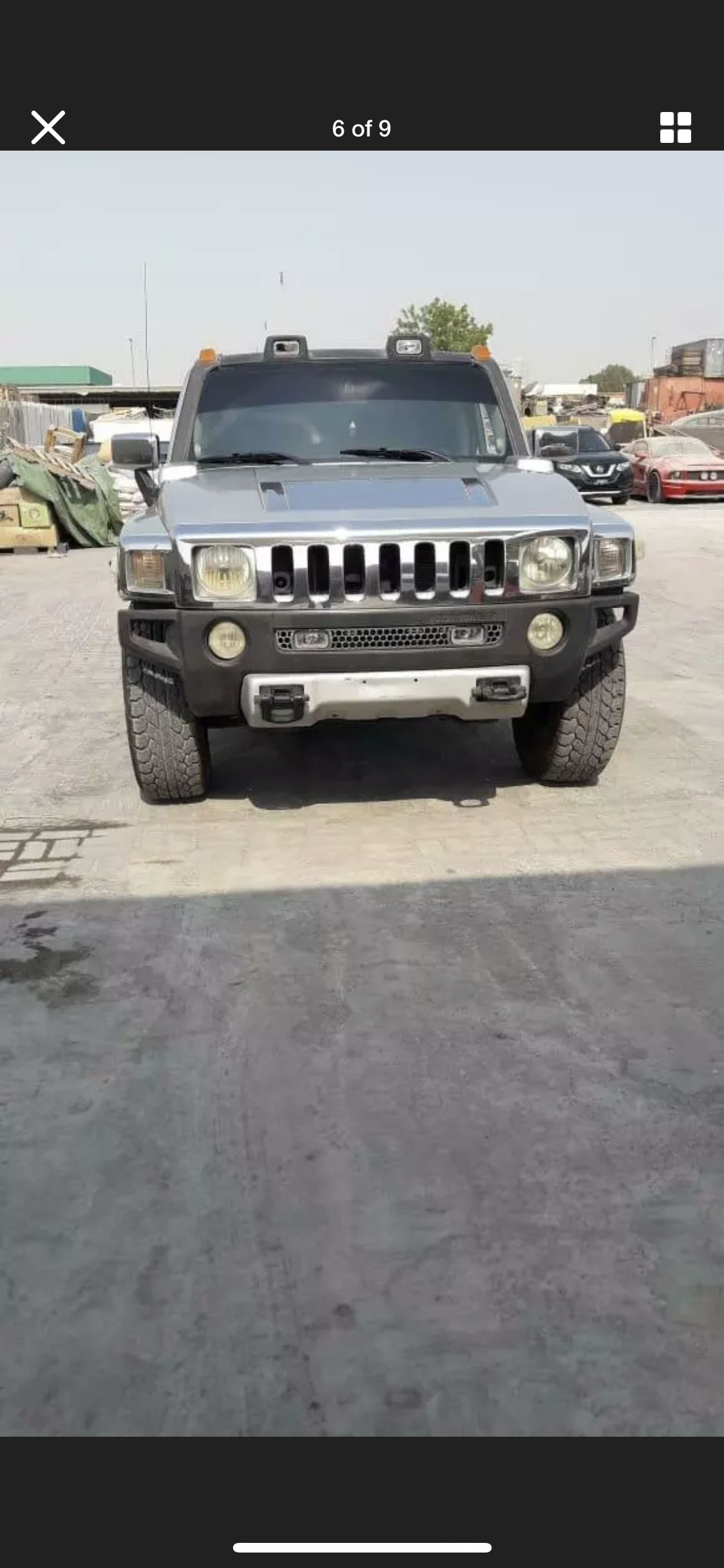 2008 HUMMER H3 3.5 LEFT HAND DRIVE SILVER LHD FRESH IMPORT A For Sale (picture 6 of 6)