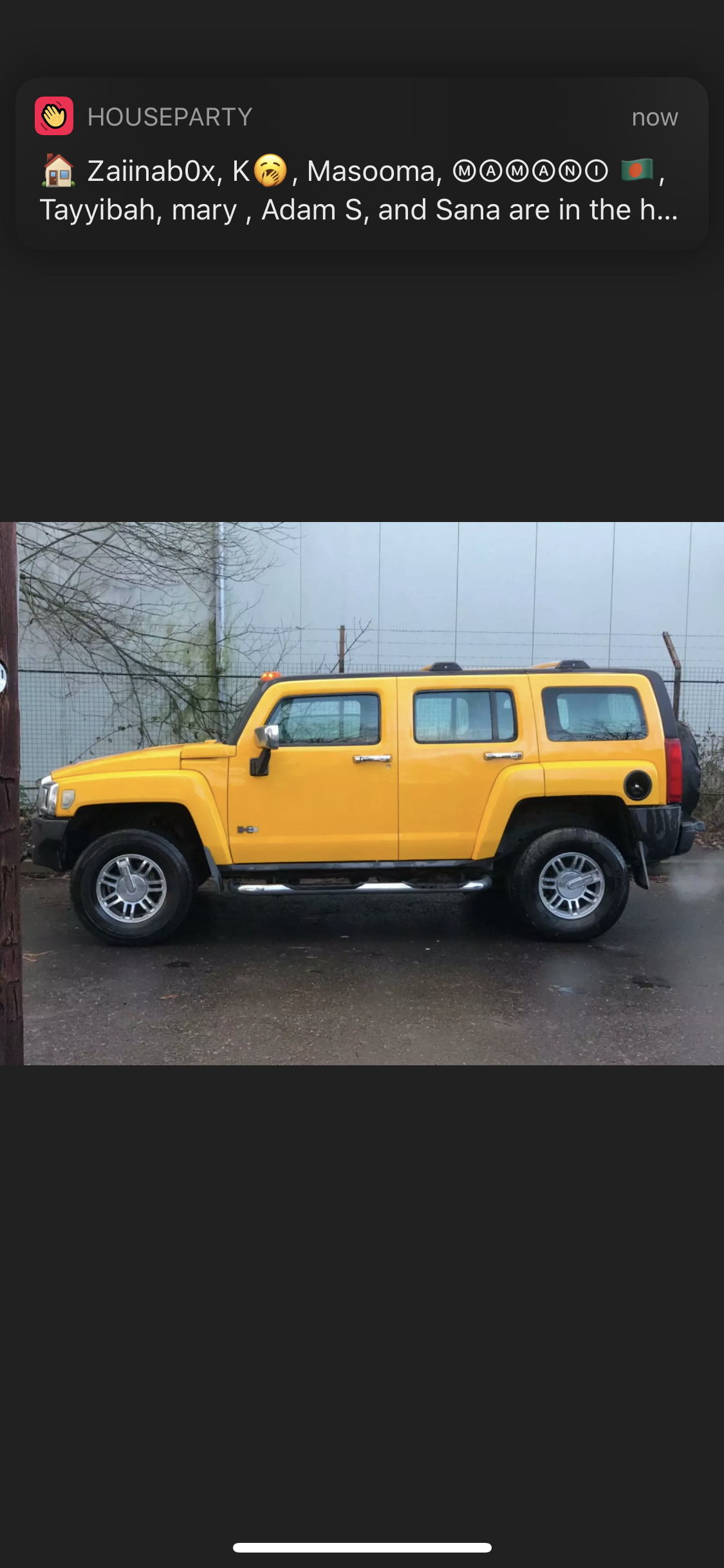 2007 HUMMER H3 3.5 LEFT HAND DRIVE YELLOW MODIFIED IMPORT For Sale (picture 2 of 6)