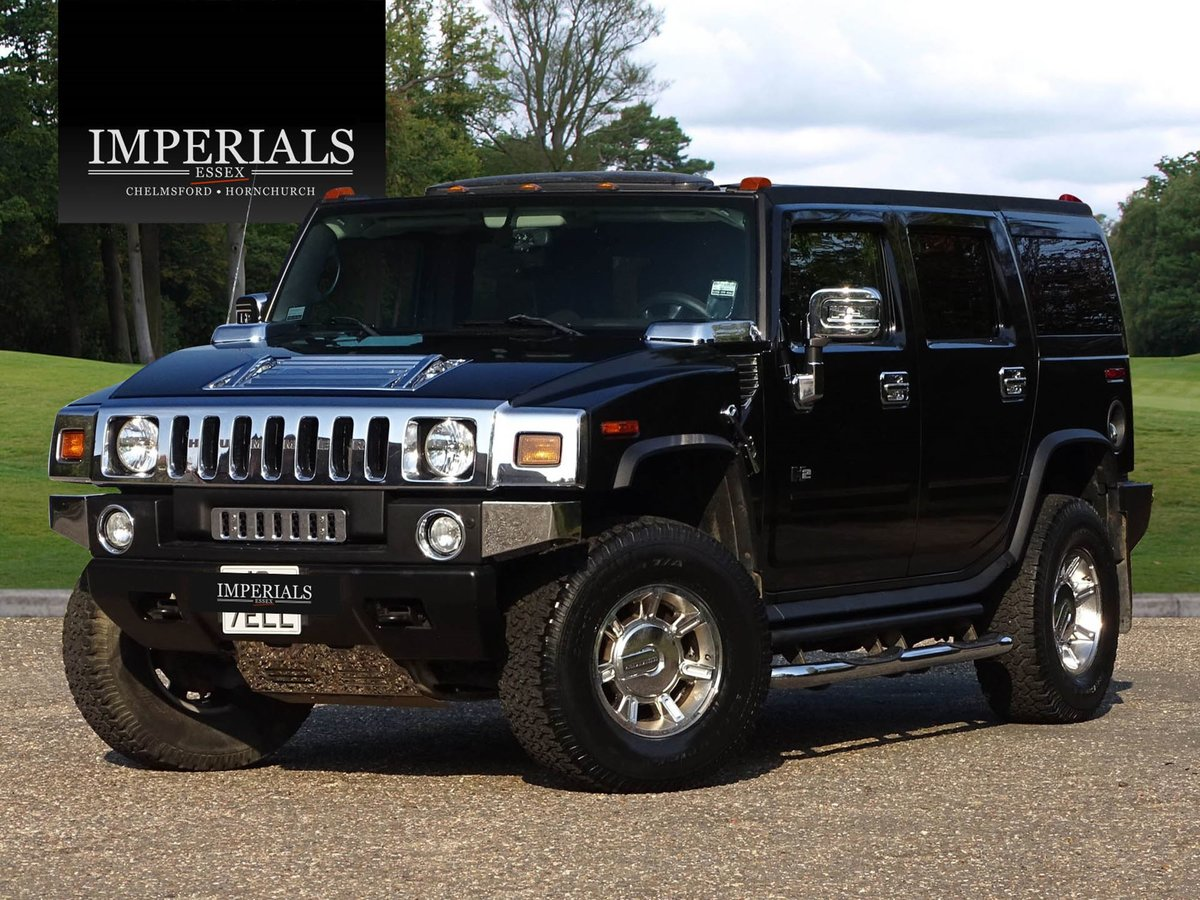 200454 HUMMER H2 LEFT HAND DRIVE For Sale (picture 1 of 20)