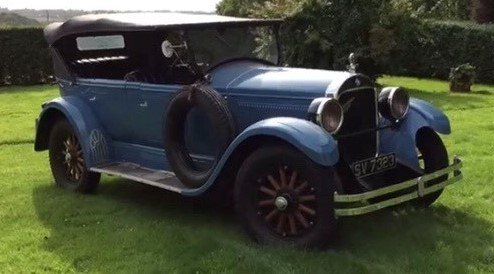 1925 Hupmobile 8 Series E For Sale by Auction