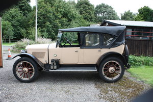 1920 A very rare Hupmobile type R touring.