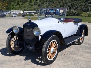 1919 Hupmobile Roadster.