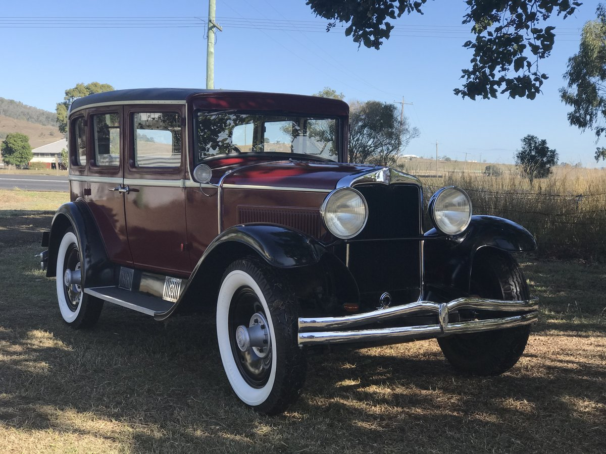 1929 Hupmobile Century A Sedan For Sale (picture 1 of 6)