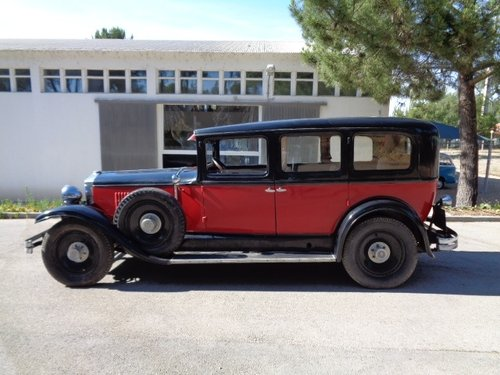 1928 Hupmobil M-8 Portuguese historic car For Sale (picture 2 of 6)