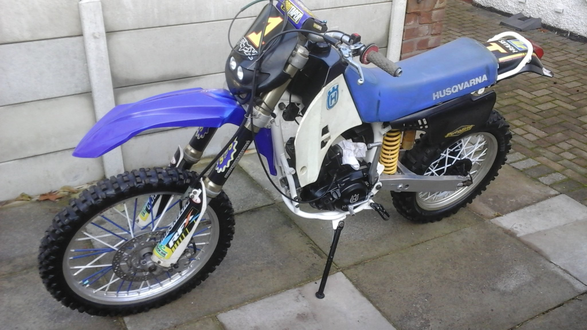 1996 Husqavarna wr 400 lc SOLD (picture 1 of 6)
