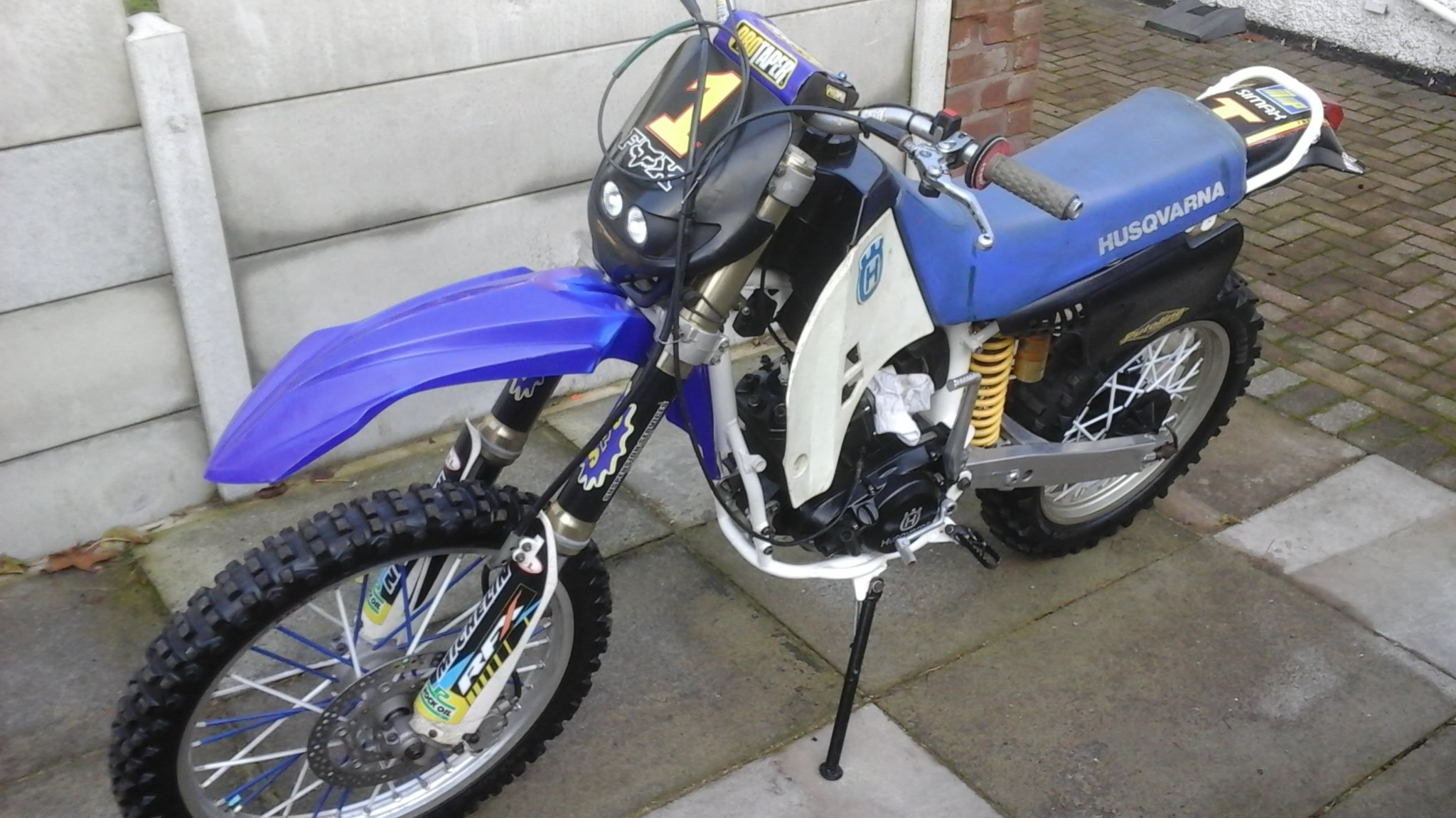 1996 Husqavarna wr 400 lc SOLD (picture 6 of 6)
