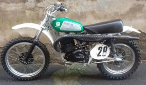 HUSQVARNA CR 400 1974, NEVER RESTORED INCREDIBLE PATINA For Sale