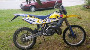 Picture of 2004 Husqvarna WR 125cc SOLD