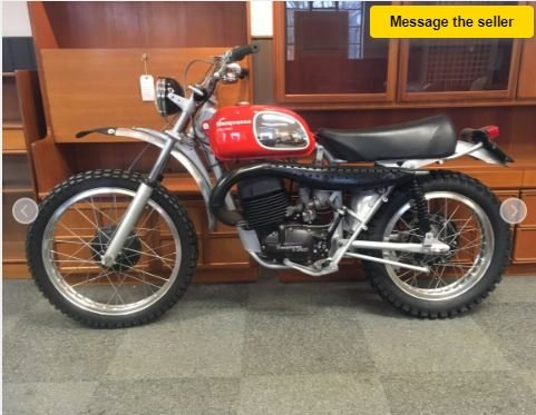 HUSQVARNA 400-8 SPEED - PREPARED FOR THE BAJA 1000 IN 1971 For Sale (picture 1 of 5)