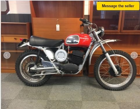 HUSQVARNA 400-8 SPEED - PREPARED FOR THE BAJA 1000 IN 1971 For Sale (picture 2 of 5)