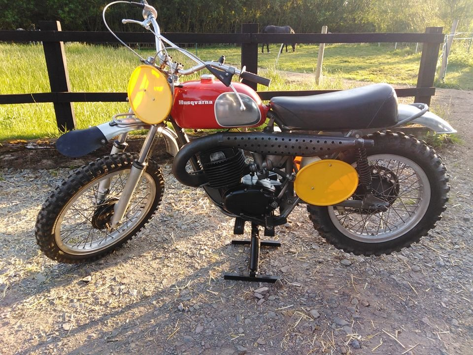 Husqvarna cr400 cross 1970 For Sale (picture 1 of 6)