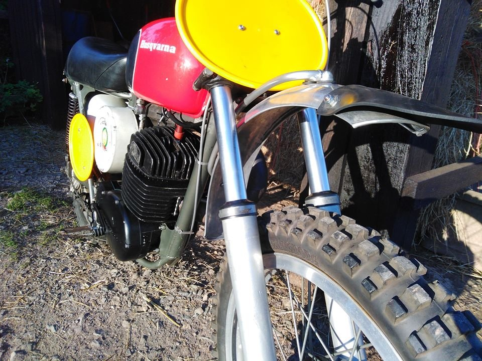 Husqvarna cr400 cross 1970 For Sale (picture 6 of 6)