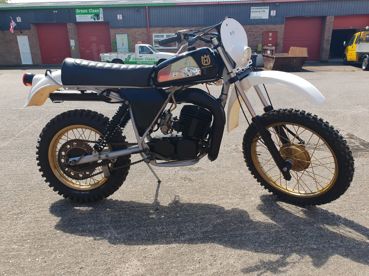 1979 Husqvarna 390 WR Automatic For Sale (picture 2 of 4)