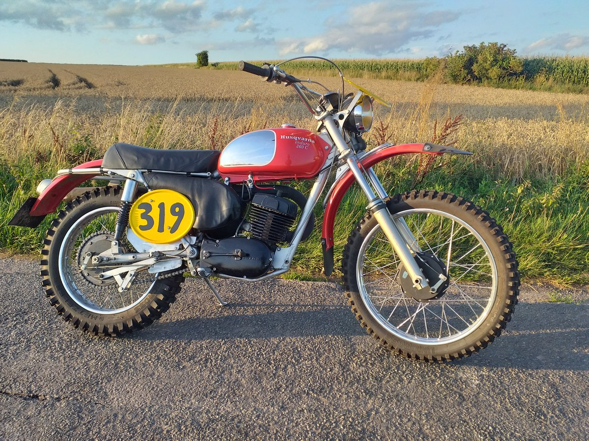 1970 Husqvarna sportsman 360c 8 speed (1971) SOLD (picture 3 of 6)