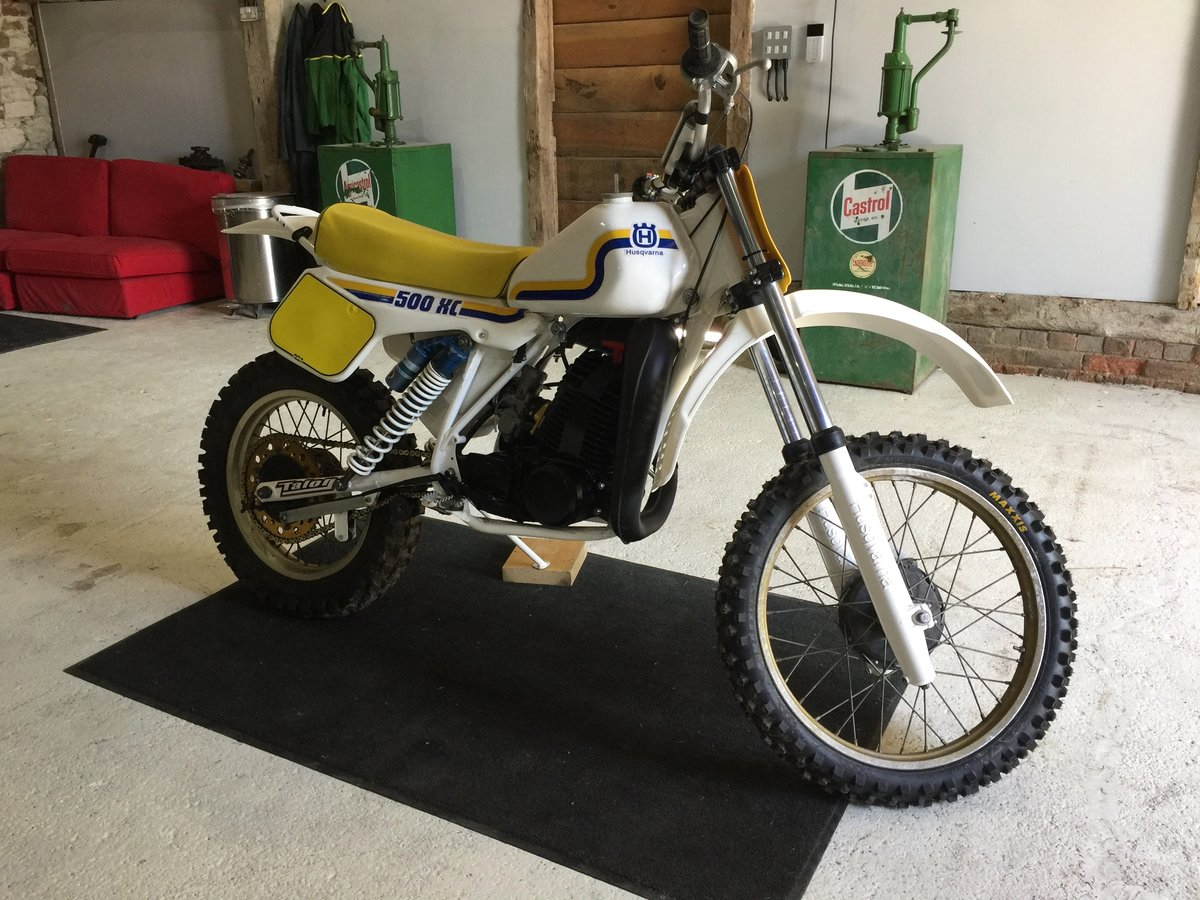 1983 Husqvarna 500 xc For Sale (picture 1 of 5)