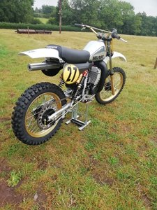 Picture of Lot 287 - 1982 Husqvarna 500 CR factory Prototype - 27/8/20 SOLD by Auction