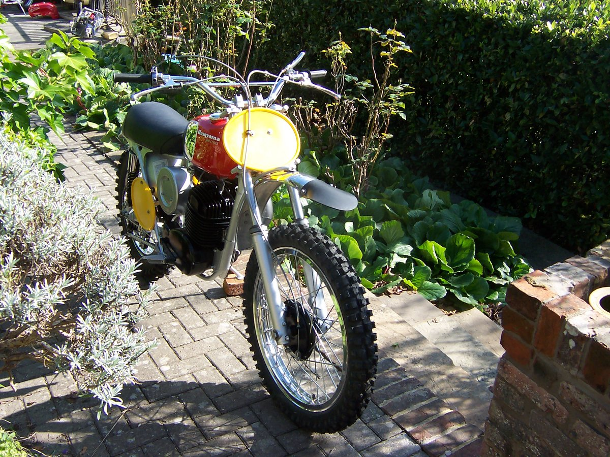 1970 Husqvarna 400 cross twinshock pre 65 For Sale (picture 6 of 6)