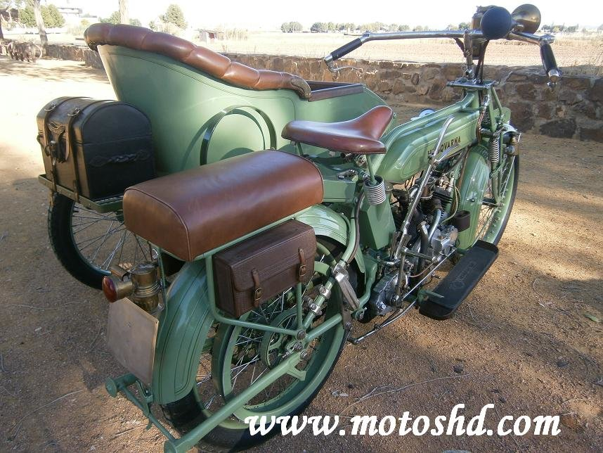 Husqvarna 145 with sidecar from 1916.Spectacular combination For Sale (picture 7 of 12)