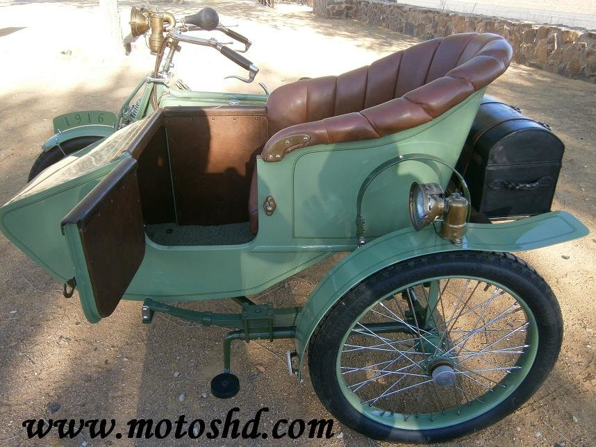 Husqvarna 145 with sidecar from 1916.Spectacular combination For Sale (picture 11 of 12)