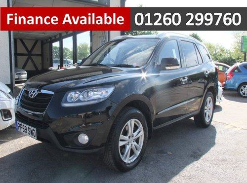 2010 HYUNDAI SANTA FE 2.2 STYLE CRDI 5DR SOLD (picture 1 of 6)