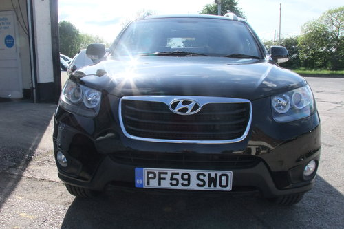2010 HYUNDAI SANTA FE 2.2 STYLE CRDI 5DR SOLD (picture 4 of 6)