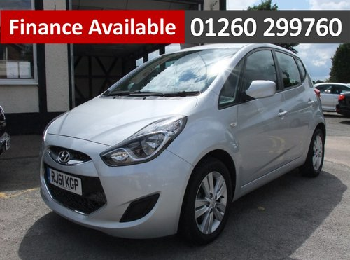 2011 HYUNDAI IX20 1.6 ACTIVE 5DR AUTOMATIC SOLD (picture 1 of 6)