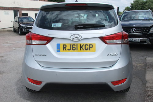 2011 HYUNDAI IX20 1.6 ACTIVE 5DR AUTOMATIC SOLD (picture 5 of 6)