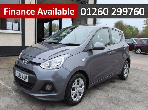 2016 HYUNDAI I10 1.2 SE 5DR SOLD (picture 1 of 6)