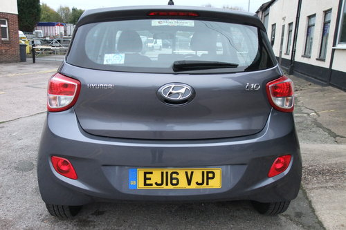 2016 HYUNDAI I10 1.2 SE 5DR SOLD (picture 5 of 6)