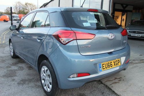 2016 HYUNDAI I20 1.2 MPI S AIR 5DR For Sale (picture 3 of 6)