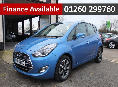 2015 HYUNDAI IX20 1.6 SE 5DR AUTOMATIC SOLD (picture 1 of 6)