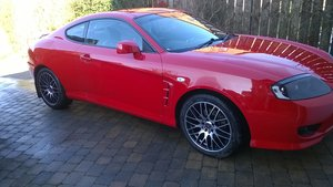 2006 Hyundai Coupe 1.6S in RED