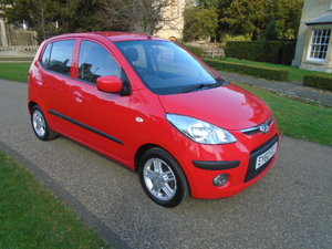2010 Hyundai i10 5 Dr Hatch, 1248cc. Only 18555 miles!! For Sale